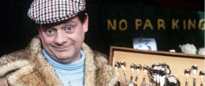 Del Boy from Only Fools of Horses haggling
