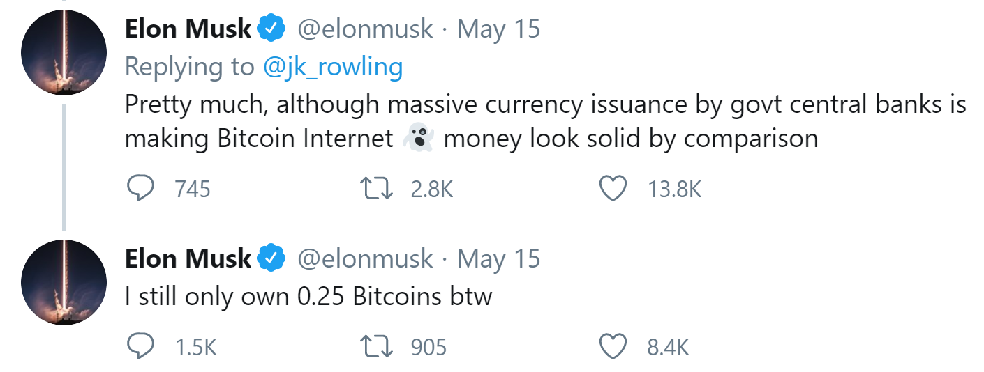 JK Rowling Bitcoin Pursuit: Elon Musk Joins Neighborhood to Describe Cryptocurrency to Harry Potter Writer 6
