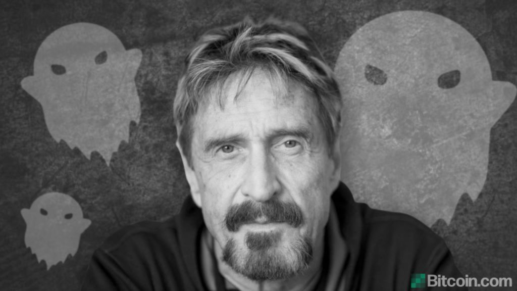 John McAfee Launches Ghost Telephone Service to Complement His Cryptocurrency 6