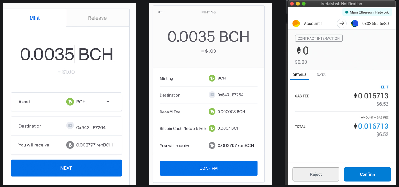 Inter-Blockchain Liquidity: Minting Artificial Bitcoin Money With the Ren Protocol 5
