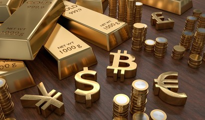 Bitcoin May Comply With Supplies As Well As Gold Downwards - 1