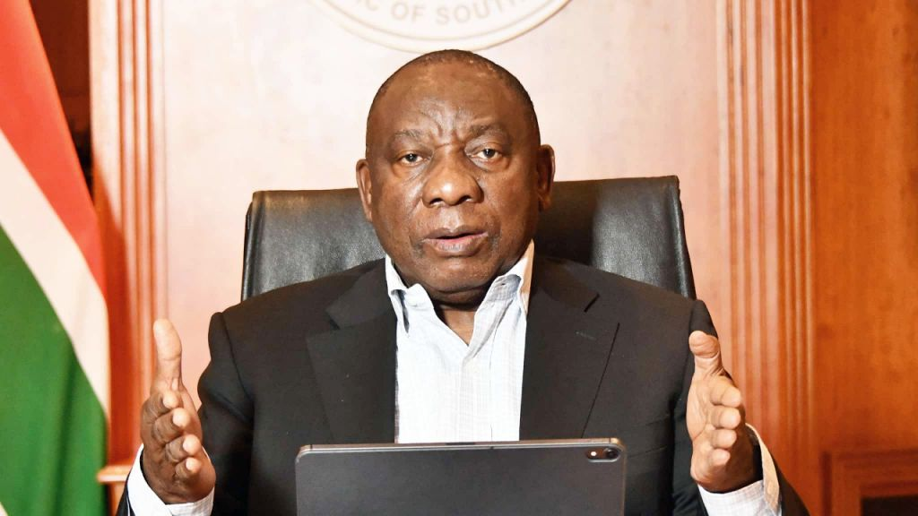 Bitcoin Change South Africa: Fraud Insurance Claims Assistance by Head Of State Cyril Ramaphosa 7