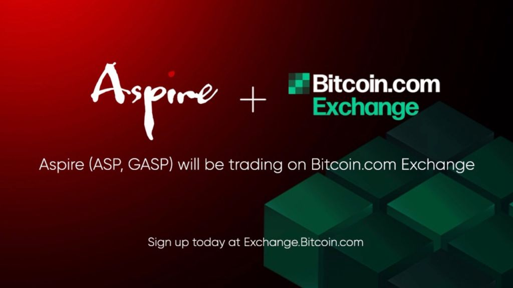 Bitcoin.com Exchange to Provide Aspire and also Aspire Gas as Newest Digital Property Development System Concerns Market 1
