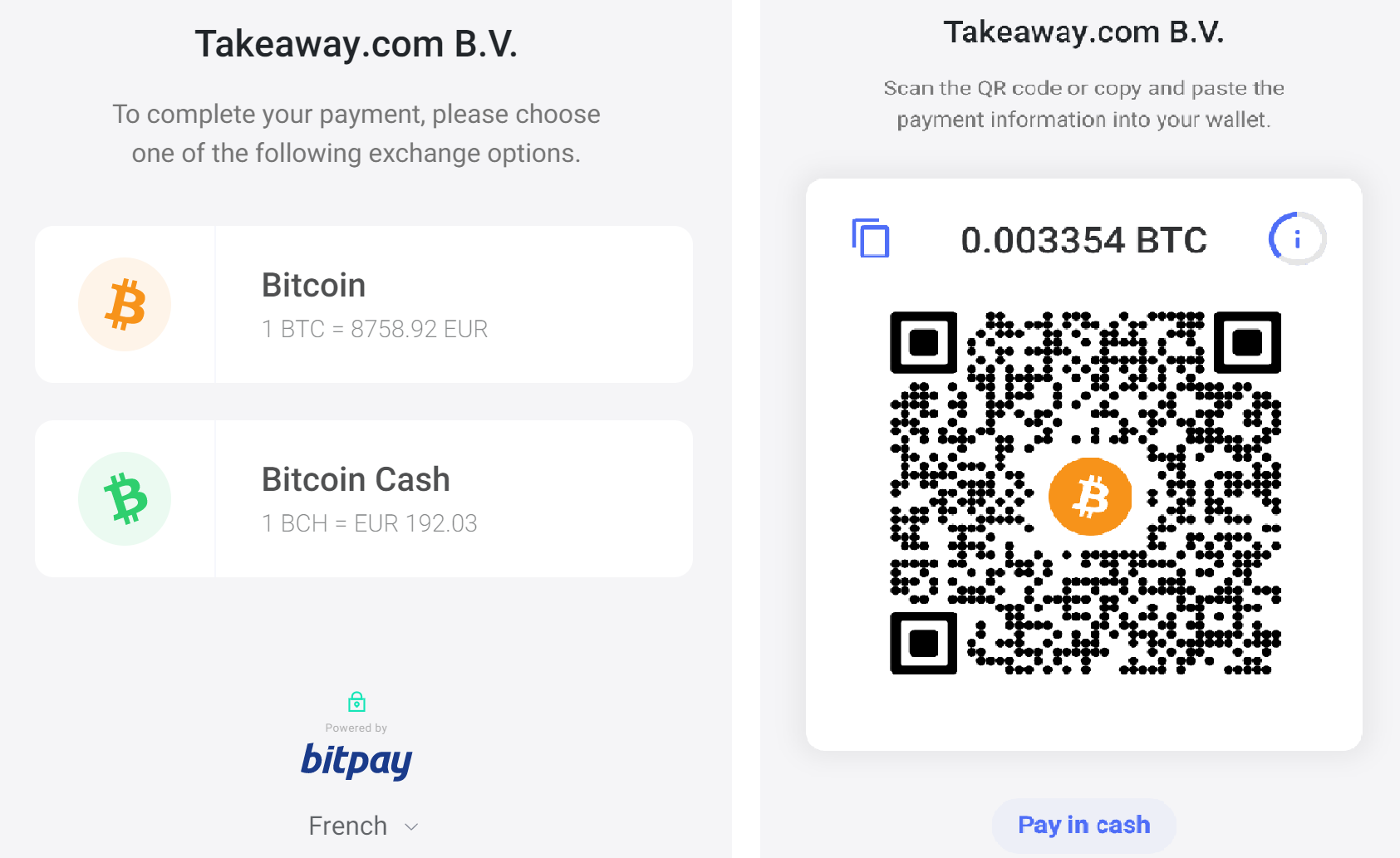 Cryptocurrencies Now Accepted for 15,000 Restaurants in France on Just Eat