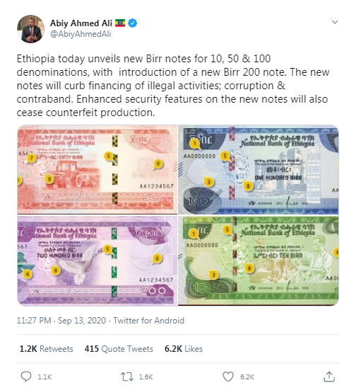 Rising Cost Of Living Struck Ethiopia Demonetizes Currency To Suppress Money Hoarding 3