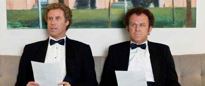 step brothers interview in black tie