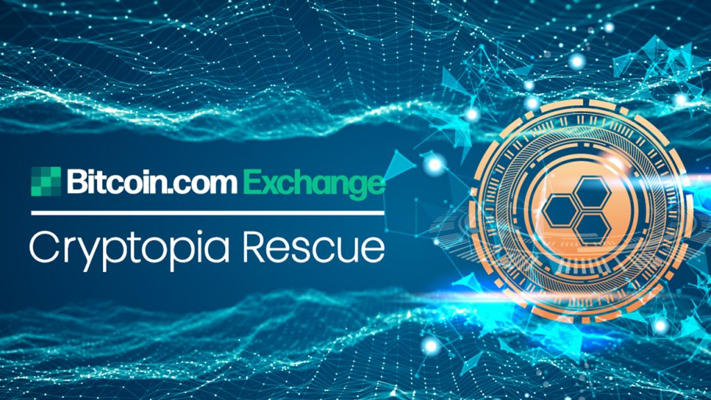 Bitcoin.com Exchange Exposes Function in the Cryptopia Rescue Team 1