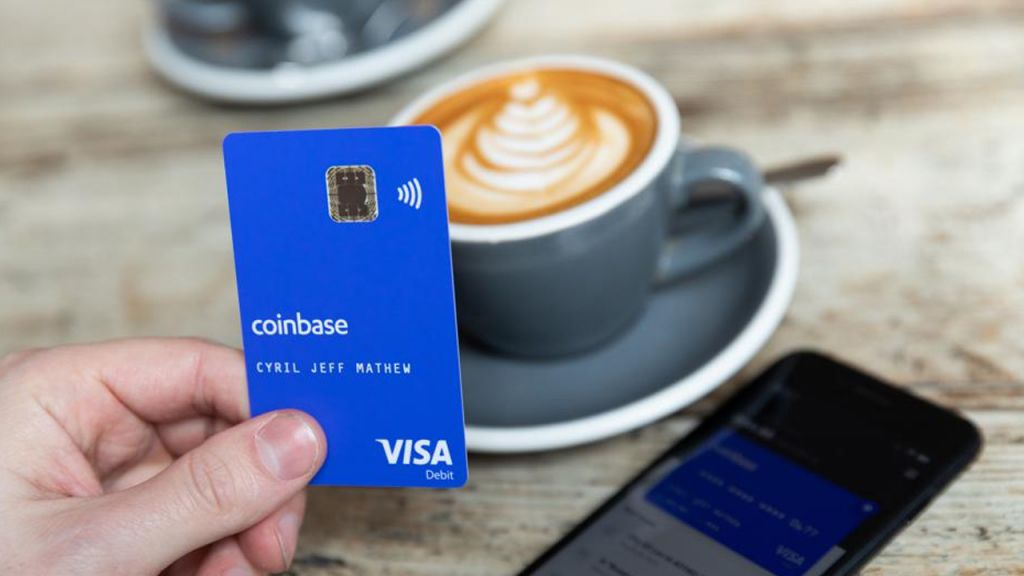 Coinbase Introduces Cryptocurrency Visa Card in the United States 1