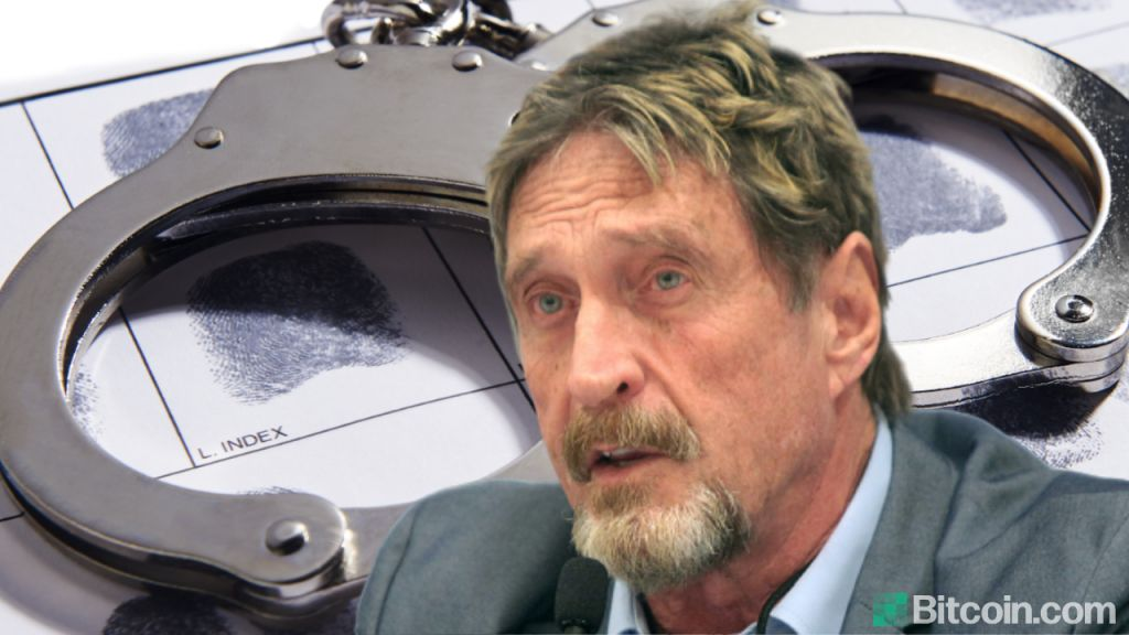 John McAfee Detained, Prosecuted for $23 Million Illegal Crypto Pumping as well as Tax Obligation Evasion in United States 9