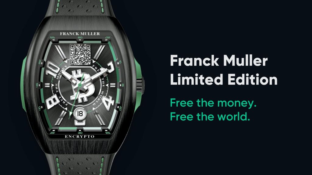 Bitcoin.com Announces Collaboration With High-end Watch Manufacturer Franck Muller 1