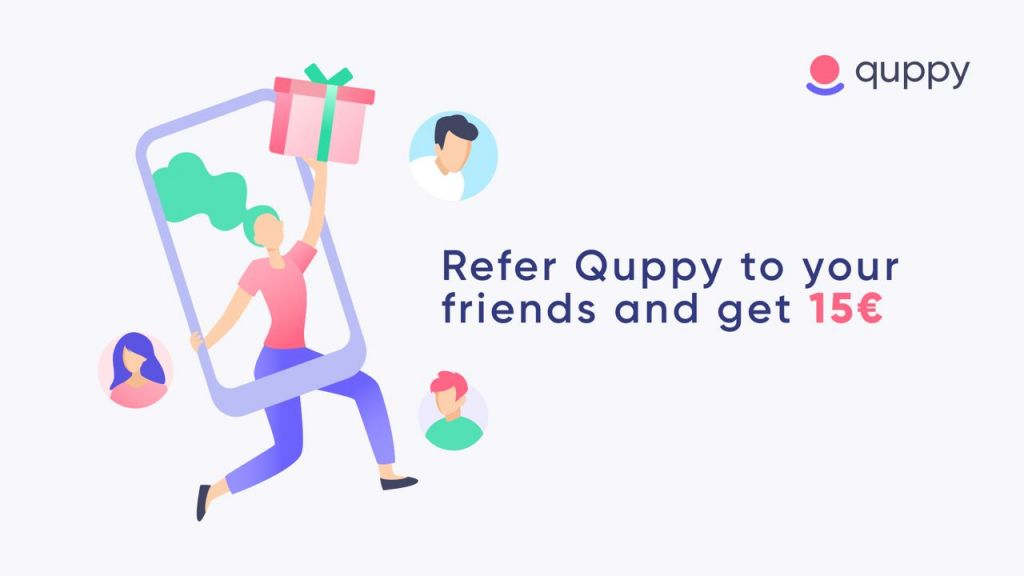 Quppy Users Are Provided a Recommendation Program 1