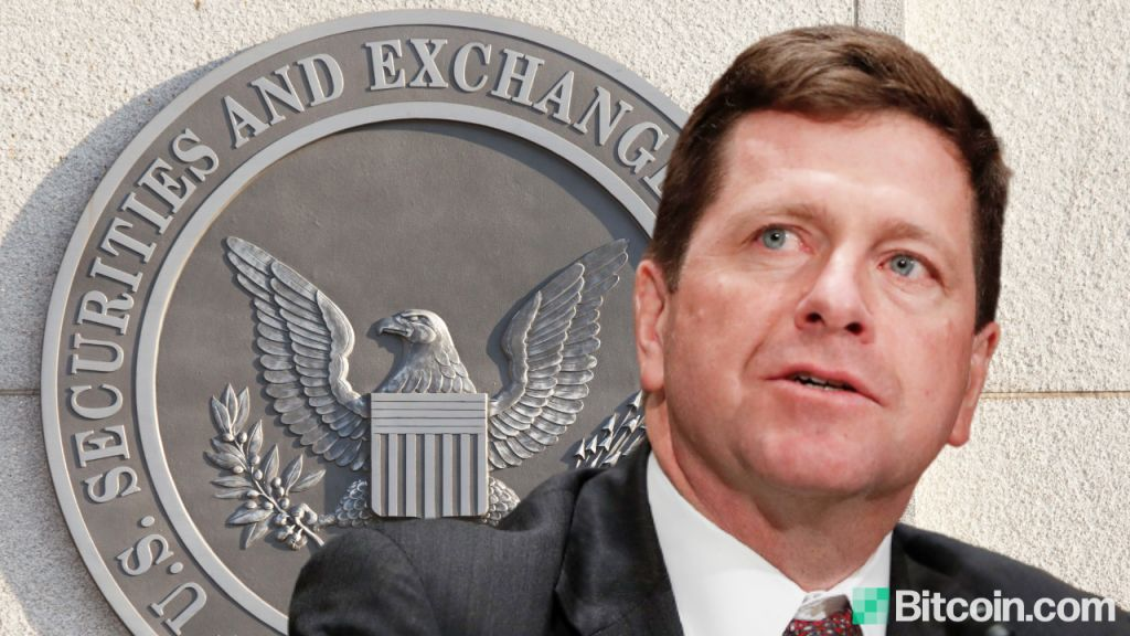 SEC Chairman Jay Clayton Clarifies United States Crypto Guideline, Telephone Calls Bitcoin a Shop of Worth 1