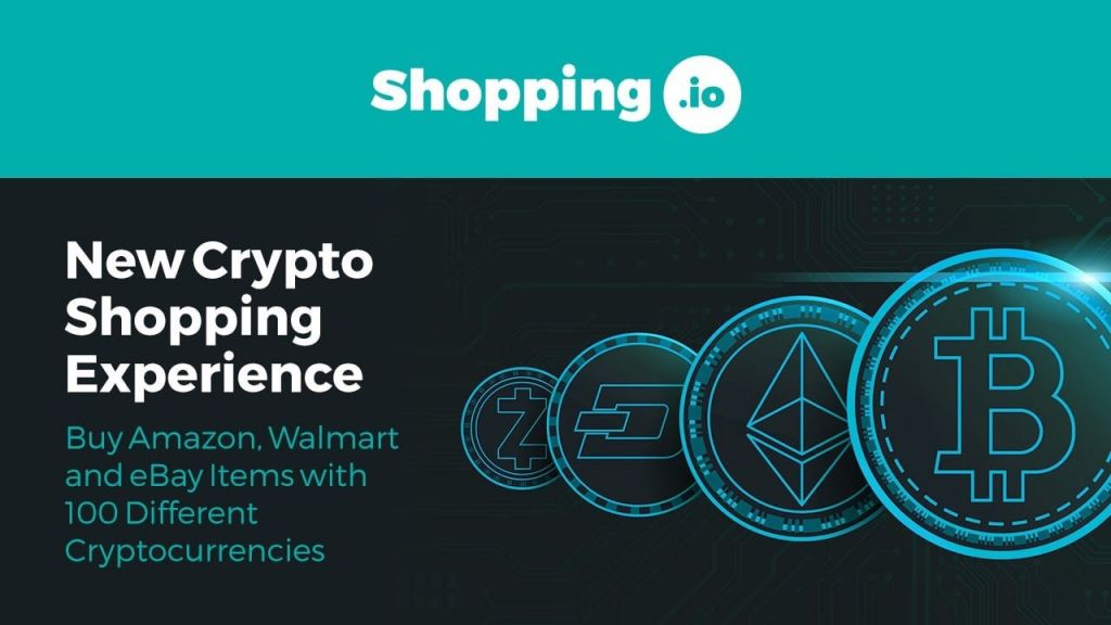 Shopping.io Allows Crypto-Payments on Popular Ecommerce Internet Site 1