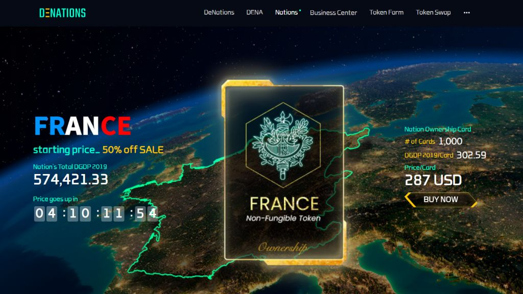DeNations, a Blockchain-Powered Metaverse, Introduces the First INO - First Countries Using 12