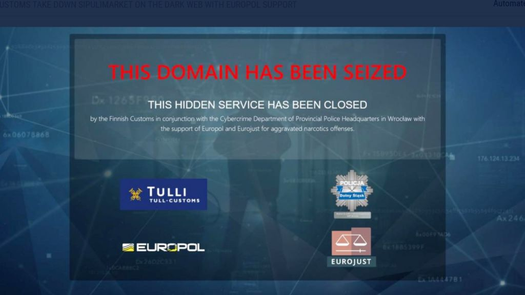Authorities Close Down Darknet Market Sipulimarket, Confiscate Bitcoin 1