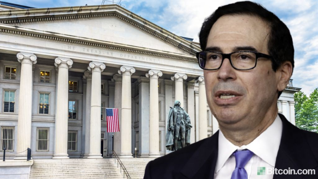 United States Treasury Introduces Suppressing Crypto Purse Law-- Specialists Damage Down the Regulations 1