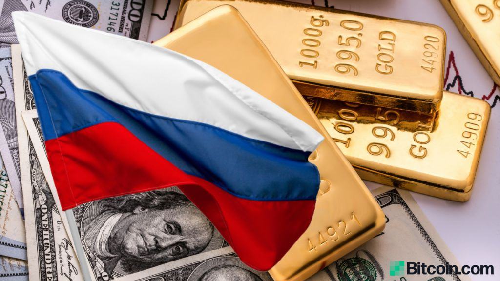 Gold Goes Beyond UNITED STATE Dollars in Russia's Gets as Putin Focuses on De-Dollarization 1