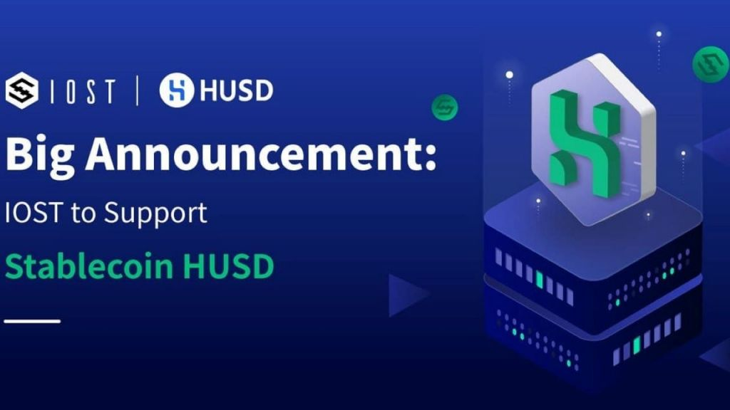 IOST in the First Set of Blockchains to Assistance HUSD Stablecoin 1