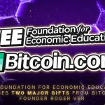 The Structure for Economic Education And Learning Reveals 2 Significant Presents From Bitcoin.com Creator Roger Ver-- News release Bitcoin Information 4