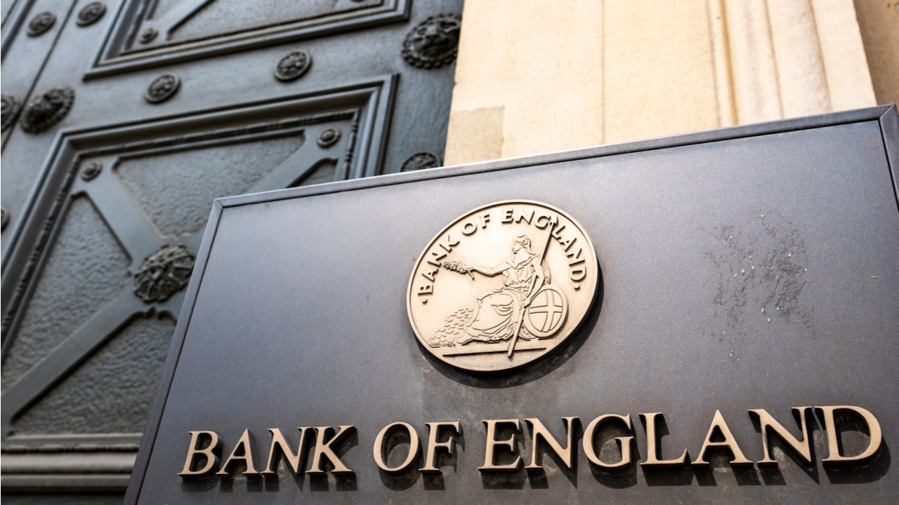 Bank of England Governor Bailey Says Cryptocurrencies Are 'Dangerous'