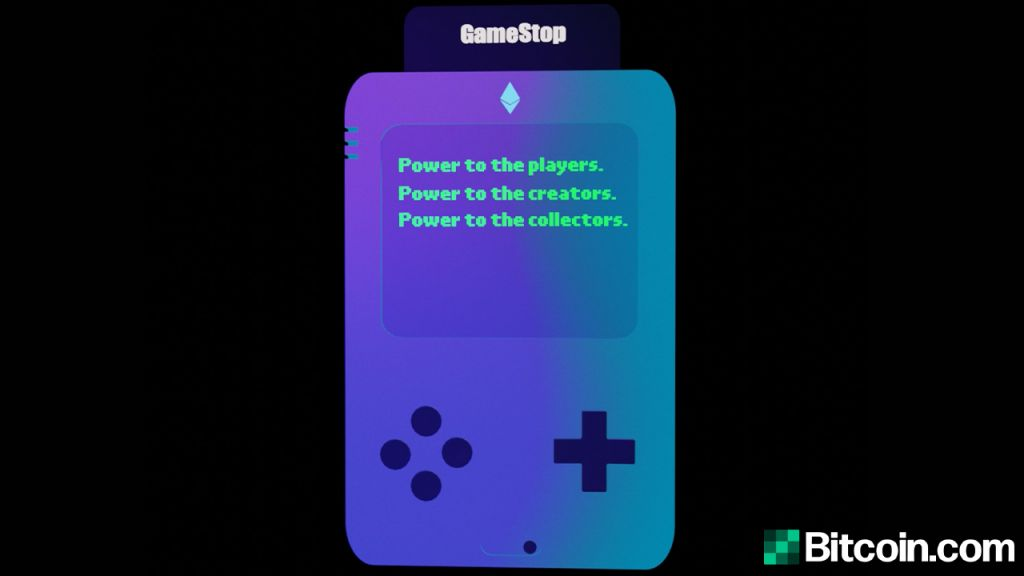 Gamestop NFT Web Site Discovered With Hidden Easter Egg Retro Video Game-- Bitcoin Information 1
