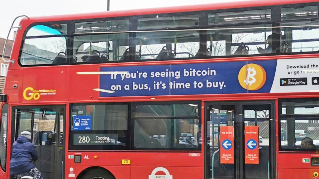 UK Bans 'Time to Acquire' Bitcoin Advertisements on Buses and also Below Ground for Being Deceptive-- Law Bitcoin Information 1
