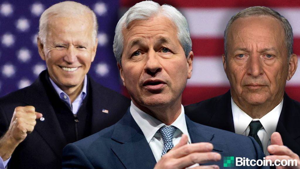 White Residence Safeguards Trillion-Dollar Stimulation While Jamie Dimon and also Larry Summers Warn of Runaway Rising Cost Of Living-- Business Economics Bitcoin Information 1