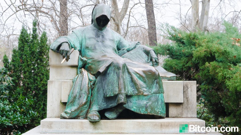 Artists Strategy to Put Up a Bronze Satoshi Nakamoto Statuary in Budapest to Honor Bitcoin's Maker-- Bitcoin Information 1