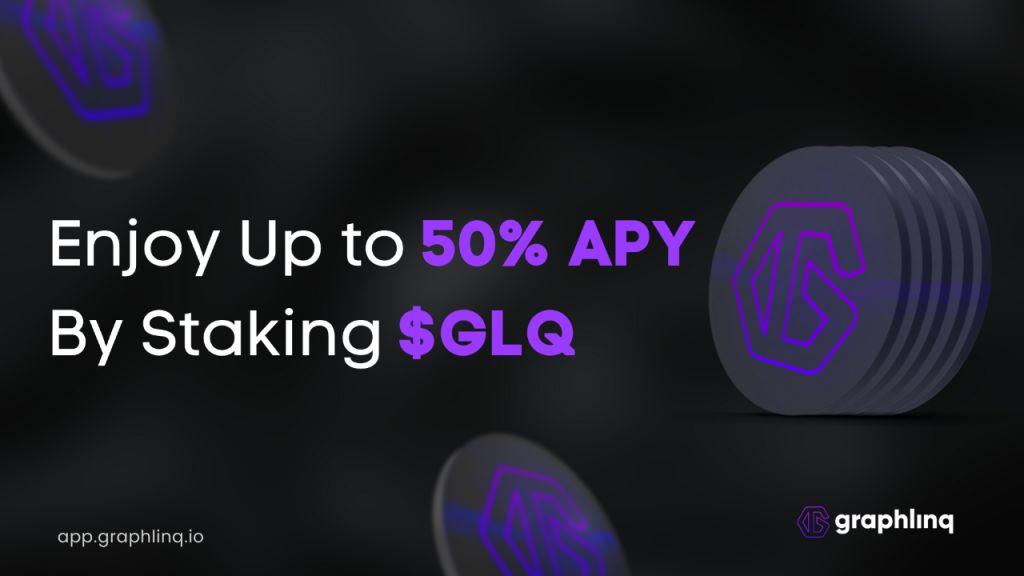 Make approximately 50% APY by Laying $GLQ on GraphLinq Application-- News release Bitcoin Information 1