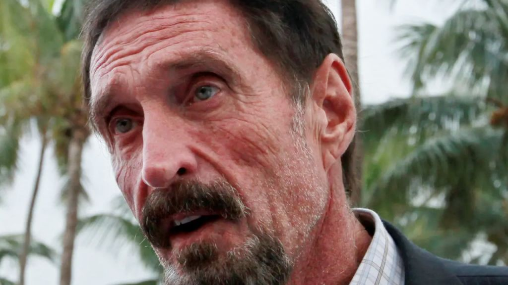 John McAfee Found Dead behind bars After Spanish Court Regulationed In Support of His Extradition to United States-- Information Bitcoin Information 1