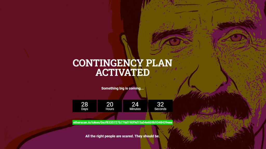Mystical John McAfee Internet Site Stands For 2 Days-- Whackd Symbol Climbs Up Over 700%-- Information Bitcoin Information 1