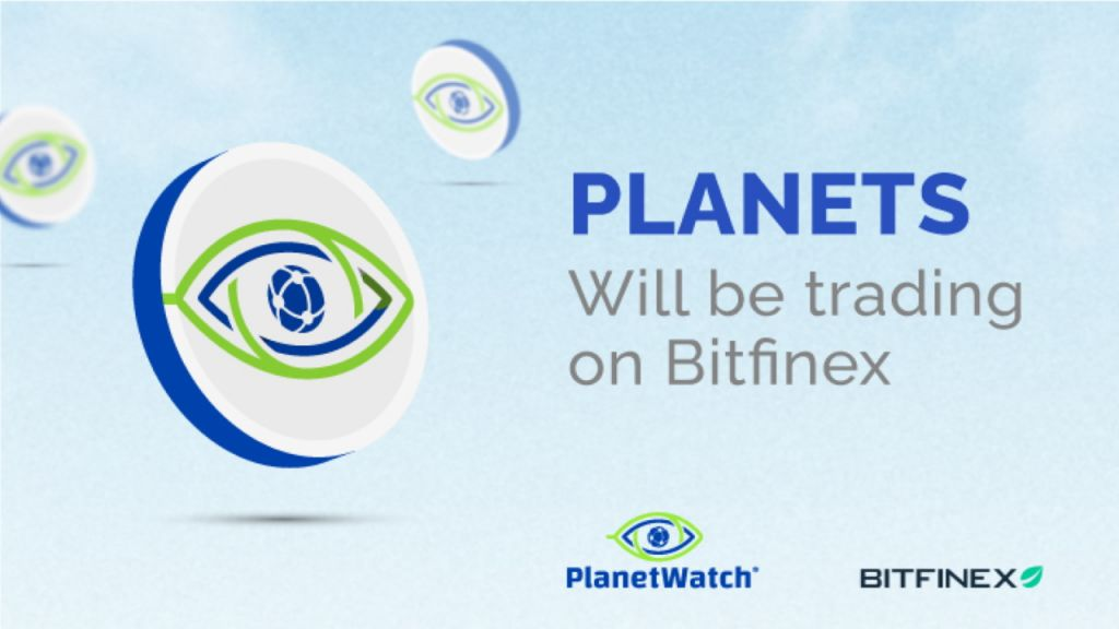 PlanetWatch Introduces the Listing of the EARTHS Token on Bitfinex Exchange-- News release Bitcoin Information 1