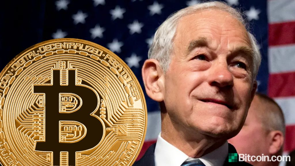 Ron Paul Wants Bitcoin Entirely Legislated to Take On Buck and also Allow individuals Choose-- Included Bitcoin Information 4