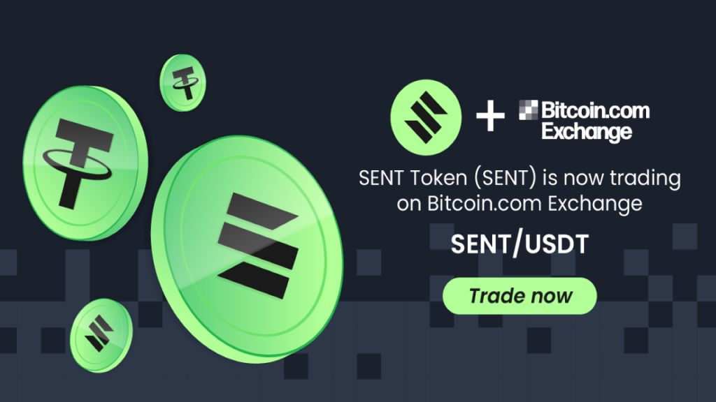 SENT Symbol Is Currently Detailed on Bitcoin.com Exchange-- News release Bitcoin Information 1