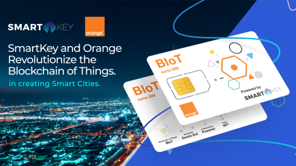 SmartKey and also Orange Change the Blockchain of Points-- Funded Bitcoin Information 1