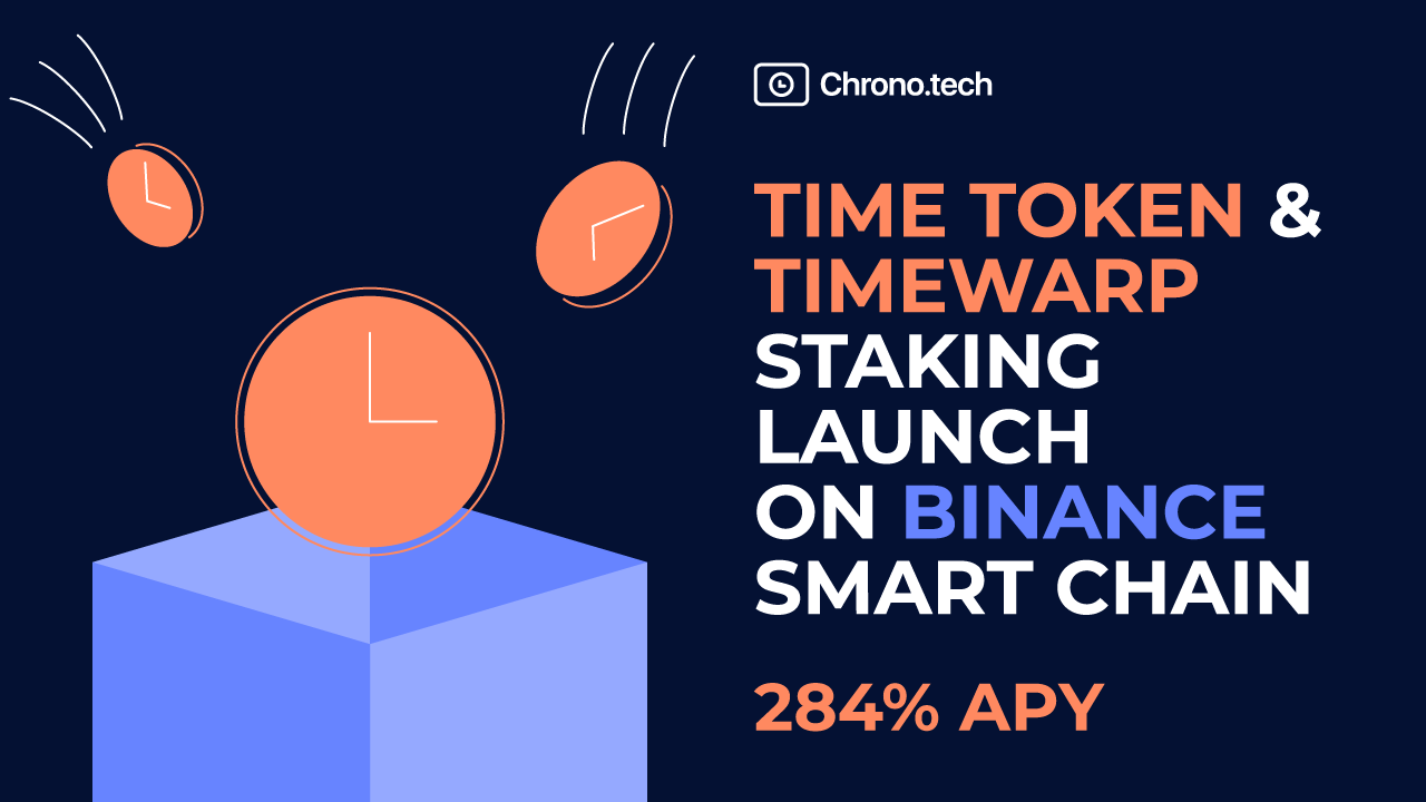 TIME Symbols as well as TimeWarp Staking Introduce on Binance Smart Chain-- News release Bitcoin Information 1