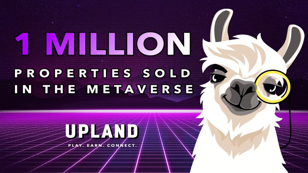 Upland Is Commemorating 1 Million NFT Qualities Minted in the Metaverse-- Funded Bitcoin Information 1