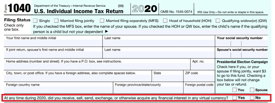 Internal Revenue Service Changes Crypto Concern on Tax Return-- Currently Concentrating On Taxed Cryptocurrency Purchases-- Tax Obligations Bitcoin Information 3