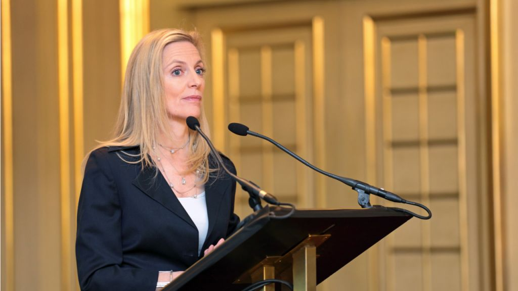 Fed Guv Lael Brainard Can Not Envision Future Without Digital Buck-- Financing Bitcoin Information 1