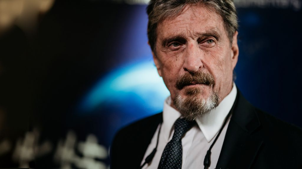 John McAfee's Widow Is Still Incredibly Cynical of Her Partner's Alleged Self-destruction-- Bitcoin Information 1