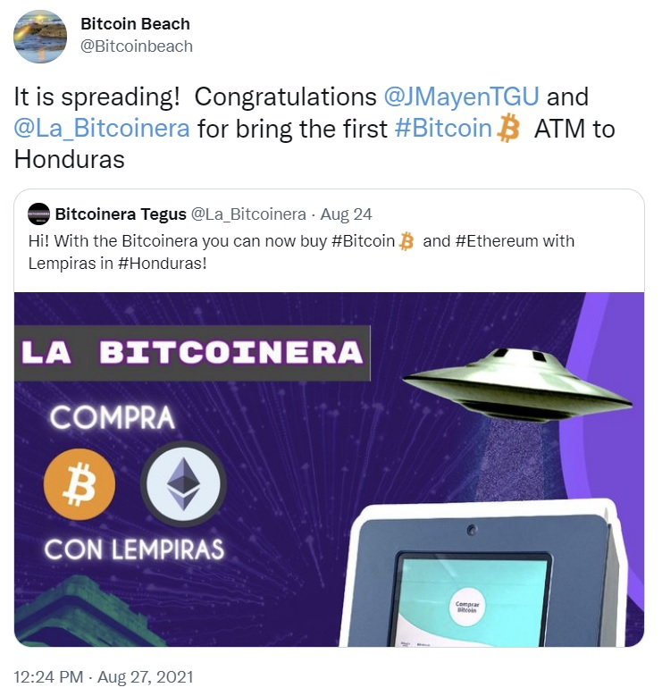 Purchasing Bitcoin as well as Ether Simply Obtained Easier in Honduras With Cryptocurrency ATM MACHINE-- Included Bitcoin Information 2