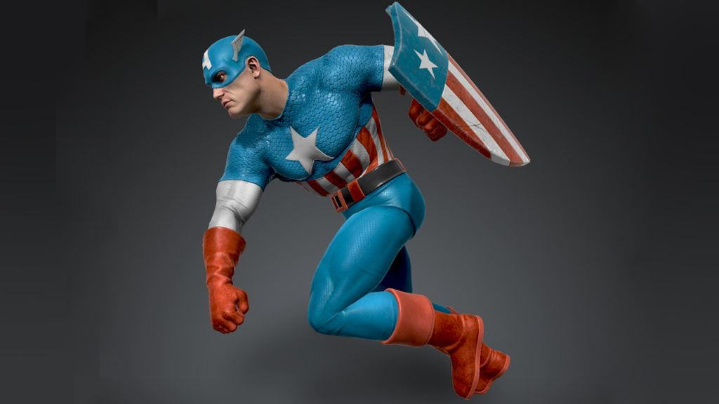 Wonder to Go Down Captain America NFT Sculptures, Fully-Readable Remarkable Spider-Man # 1 NFTs-- Blockchain Bitcoin Information 1