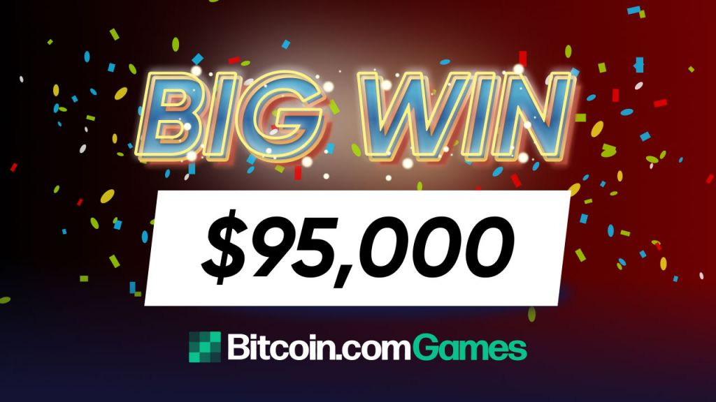 Gamer Bedazzled as Jewel-Themed Port Treasure Splitter Opens a $95,000 Prize With a $95 Wager-- Advertised Bitcoin Information 1