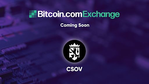 Quantum-Resistant Symbol, Crown Sovereign (CSOV) Will Certainly Be Noted on Bitcoin.com Exchange-- News release Bitcoin Information 1