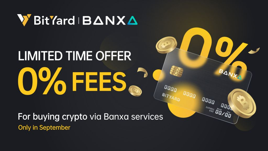 BitYard Has Partnered With Banxa to Increase Fiat Money Down Payment Approaches Sustaining Significant Money-- News release Bitcoin Information 1