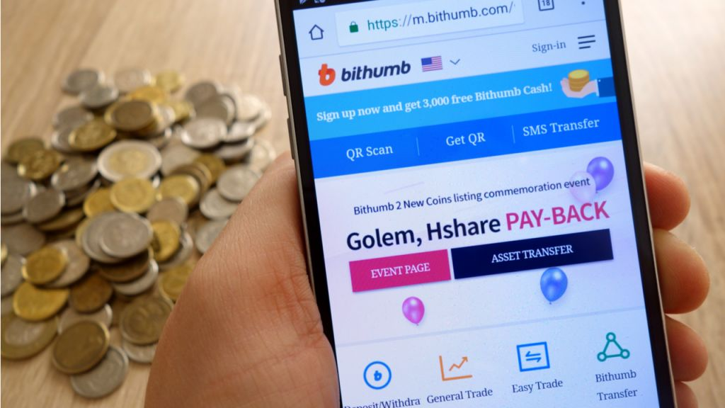 Bithumb to Restriction Foreign Traders Failing Smart Phone Recognition-- Exchanges Bitcoin Information 1