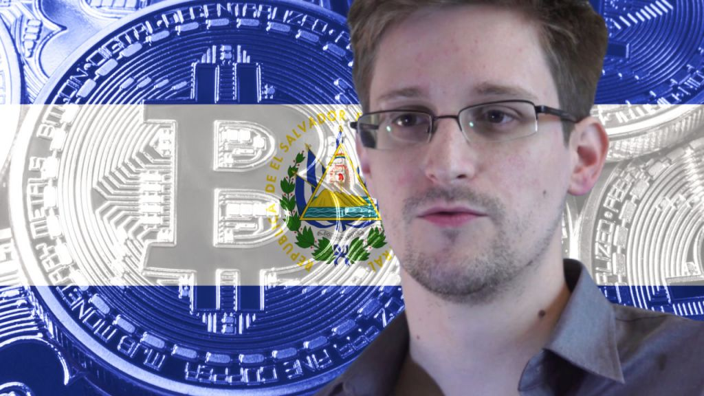Edward Snowden States Completing Countries Currently Under Stress to Obtain Bitcoin Complying With El Salvador-- Information Bitcoin Information 11