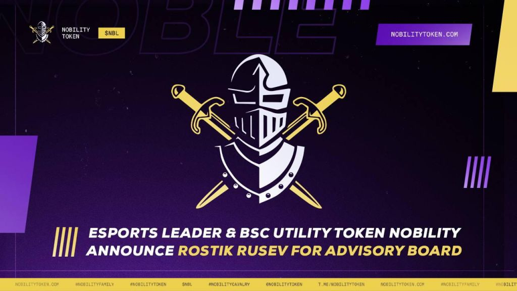Esports Leader as well as BSC Energy Symbol The Aristocracy Introduces Rostik Rusev for Board Of Advisers-- News release Bitcoin Information 1