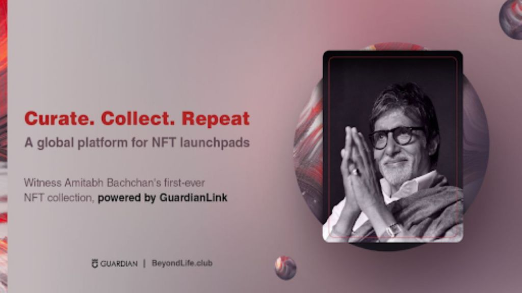 Guardian Web Link Announces Collaboration With BeyondLife.Club, Establishing Amitabh Bachchan's NFT Collection-- News release Bitcoin Information 1