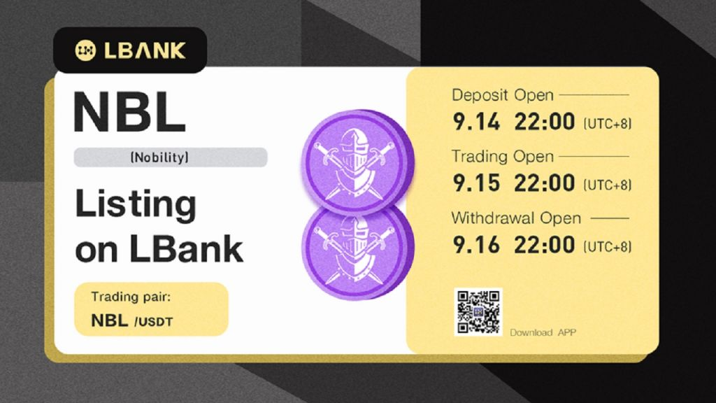 LBank Exchange Details NBL (The Aristocracy)-- News release Bitcoin Information 1